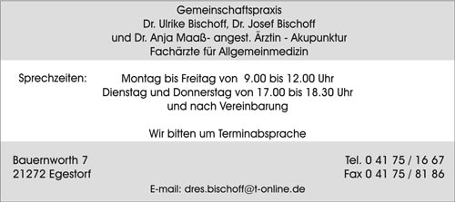 Praxis Dr. Bischoff - Dr. Maaß